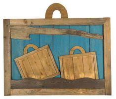 Ακριθάκης Αλέξης-Construction with two suitcases