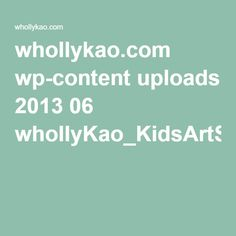 whollykao.com wp-content uploads 2013 06 whollyKao_KidsArtSmock.pdf