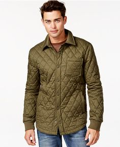 American Rag Shelly Quilted Jacket - Coats & Jackets - Men - Macy's