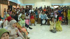 Pagelaran Kreativitas seni Musik Tari & Sastra Siswa Kelas IX 2012/2013 di Graha Adhya Wicaksana