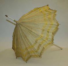 Parasol: ca. 1905-1915, British, cotton.