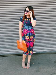 A floral #maternity #fashion