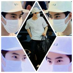 Suho airport fashion for EXOLUXION in THAILAND