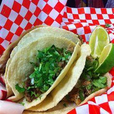 Carnitas Taco @ Taqueria La Fuente Tigard Oregon...awesome and authentic Mexican food