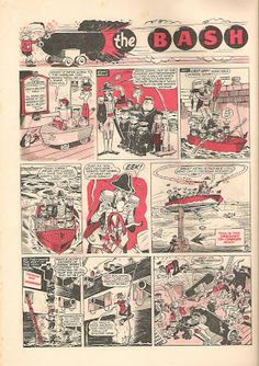 Peter Gray's Comics and Art: Leo Baxendale's The Bash Street kids
