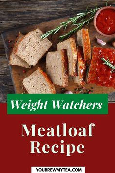 Meatloaf has been around a long time because it is delicious. You Brew My Tea says that you can eat this dish while following the Weight Watchers weight loss program. We have tweaked the recipe a bit to assure you of that. With the Smart Point system, you can also include the usual side of mashed potatoes that conform to the points you need. This is an easy-to-follow recipe that you will continue to enjoy and pass on to the next generation. Download here. #meatloaf #mywwmeatloaf…