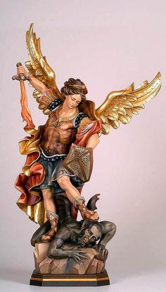 Angel Warrior Tattoo, Warrior Tattoos, Saint Michael Angel, St Michael, Archangel Tattoo, Kunst Online, Christian Wallpaper, Biblical Art, Mary And Jesus