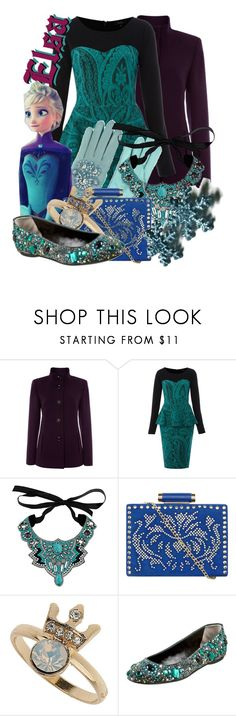 """""""Elsa from Frozen"""" by likeghostsinthesnow ❤ liked on Polyvore featuring Therapy, Wallis, Dorothy Perkins, Topshop and D&G"""