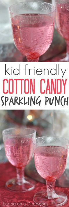 kid friendly cotton candy drink recipe