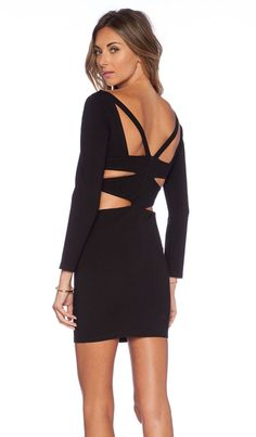 NBD Collette Bodycon Dress in Black