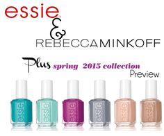 essie spring 2015 | Essie Spring 2015 and Rebecca Minkoff announcement via @alllacqueredup