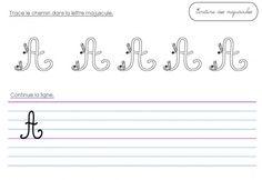 Les majuscules cursives - pépins et citrons