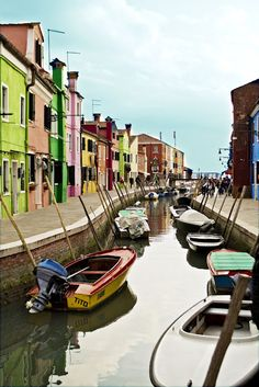 Burano, Venice, would be a dream to live here