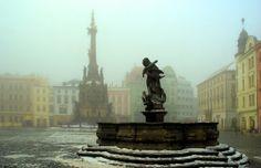 Olomouc, Czech Republic (by jan dudas) Central Europe, Places Of Interest, Study Abroad, Czech Republic, Prague, Statue Of Liberty, Places Ive Been, Tours, Vacation