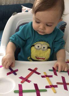Fun Activities For Kids, Sensory Activities, Infant Activities, Baby Room Set, Infant Curriculum, Toddler School, Montessori Baby, Baby Development, Baby Games