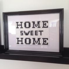 Home Sweet Home hama perler by juliebjk