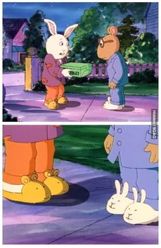 Arthur / Best Friens Wear / Each Other On / Their Feet