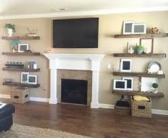 Image Result For Decorating On Either Side Of Fireplace