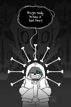 Sans' battle in the genocide route is by far one of the coolest fights in Undertale   (also kinda depressing lmao).I mean, right off the bat, he doesn't pull any punches, and it's surprising considering how much of a laidback kind of guy he is. For all his corny jokes, and easy going, friendly attitude, he can be pretty damn intimidating, and a badass to boot.Even with a big 'ol smile plastered on his face, the guy's got no chill whatsoever, and that's one of the reasons he's easily ...