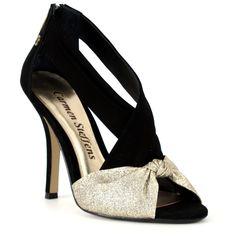 Sandália com Glitter verão 2.013 Carmen Steffens #casualdenovamutum