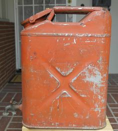 WW2 1944 GI US Army Jerry Water Can Monarch With Brass Water Spout | eBay