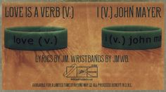 John Mayer - JMWristbands raise awareness by providing the John Mayer fan community with information about NCIRE and the issues affecting veterans.