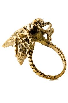 Accessories Boutique Ring Wasp in Gold - Karmaloop.com ($9.00) - Svpply