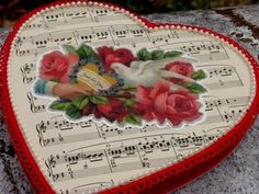altered valentine candy boxes | altered box - I saved a bunch of these heart shaped boxes last year ...