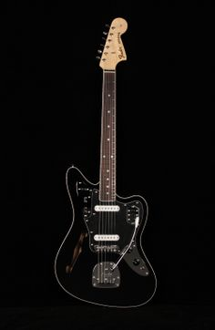 Fender Special Edition Jaguar Thinline: what????! A Thinline? Awesome.
