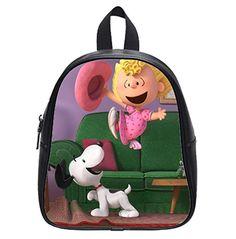78f658834f14 Custom Peanuts Charlie Brown Snoopy Kid s Backpack School Bag for  kindergarten
