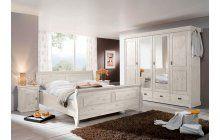Ložnice z masivu borovice bílá. Entryway, Bench, Storage, Kiefer, Furniture, Home Decor, Ideas, Bed Room, Sitting Rooms
