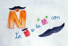 La Ñ es la N con bigote
