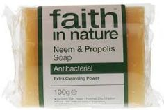 Faith in Nature Neem & Propolis Pure Veg Soap 100g