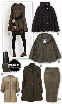 Inspiration Board: Military Style