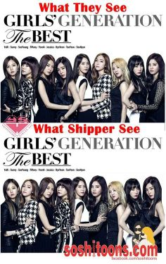 SNSD people vs shipper what do you see?