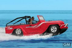 The World& Fastest Amphibious Car - Hammacher Schlemmer Hammacher Schlemmer, Amphibious Vehicle, Chrysler Pacifica, Water Crafts, Car Ins, Motor Car, Exotic Cars, Cars And Motorcycles, Cool Cars
