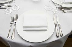 italian restaurant place setting - Google Search
