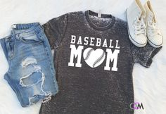 Proud Baseball Mom, Proud Mom Shirt, Mom of Boys Shirt, Baseball Shirt, Baseball Mom Shirt, Baseball Player Shirt, Ballpark Shirt by 1OneCraftyMomma on Etsy