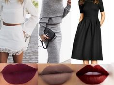 The perfect lip color for your   outfit
