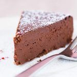I CANNOT WAIT to try this: Flourless Chocolate Cake Recipe Desserts with eggs, bittersweet chocolate, unsalted butter, brewed coffee Cake Recipes, Dessert Recipes, Sweet Desserts, Yummy Recipes, Flourless Chocolate Cakes, Chocolate Cale, Cheesecake, Let Them Eat Cake, Cupcake Cakes