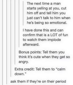 """I've done this many times and it's truly beautiful. My favorite is """"you're so cute when you get angry"""""""