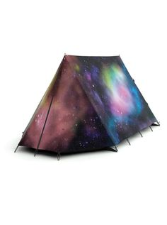 Galaxy camping tent. THIS IS AWESOME! I would actually go camping (in a backyard) just because of this!!