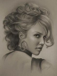 Krzysztof Lukasiewicz - Krzysztof is a pencil artist from Poland. He created fabulous gallery of portraits with 2b,8b pencils.