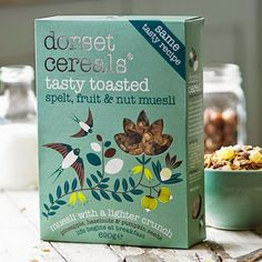 print & pattern: PACKAGING - dorset cereals