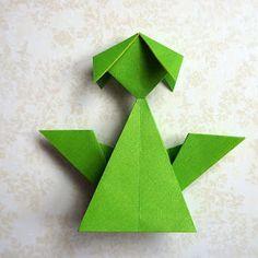 love, life and crafts Rudlis: Już jest....origami angel tutorial