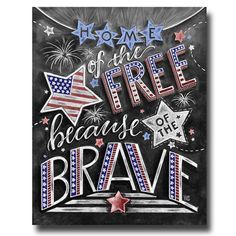 Patriotic Decor, Fourth of July, Chalkboard Art, Chalk Art, Independence Day… Chalkboard Print, Chalkboard Lettering, Chalkboard Designs, Chalkboard Ideas, Summer Chalkboard Art, Chalkboard Window, Chalkboard Clipart, Chalk Fonts, Chalkboard Doodles