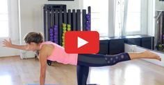 Skip basic crunches. This routine slows down movement so you can focus on firing up your abs.