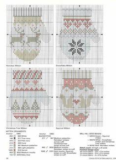 Ideas knitting christmas ornaments cross stitch for 2019 Cross Stitch Christmas Ornaments, Xmas Cross Stitch, Christmas Embroidery, Christmas Knitting, Christmas Cross, Cross Stitch Charts, Cross Stitch Designs, Cross Stitching, Cross Stitch Embroidery