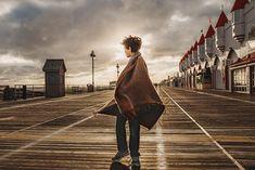 Boy-castles-boardwalk-sunflare-boardwalk-clouds-Ocean City- New Jersey