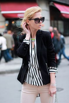 chic stripe #choies shirt